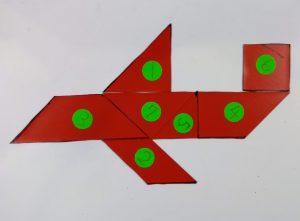 タングラム 飛行機