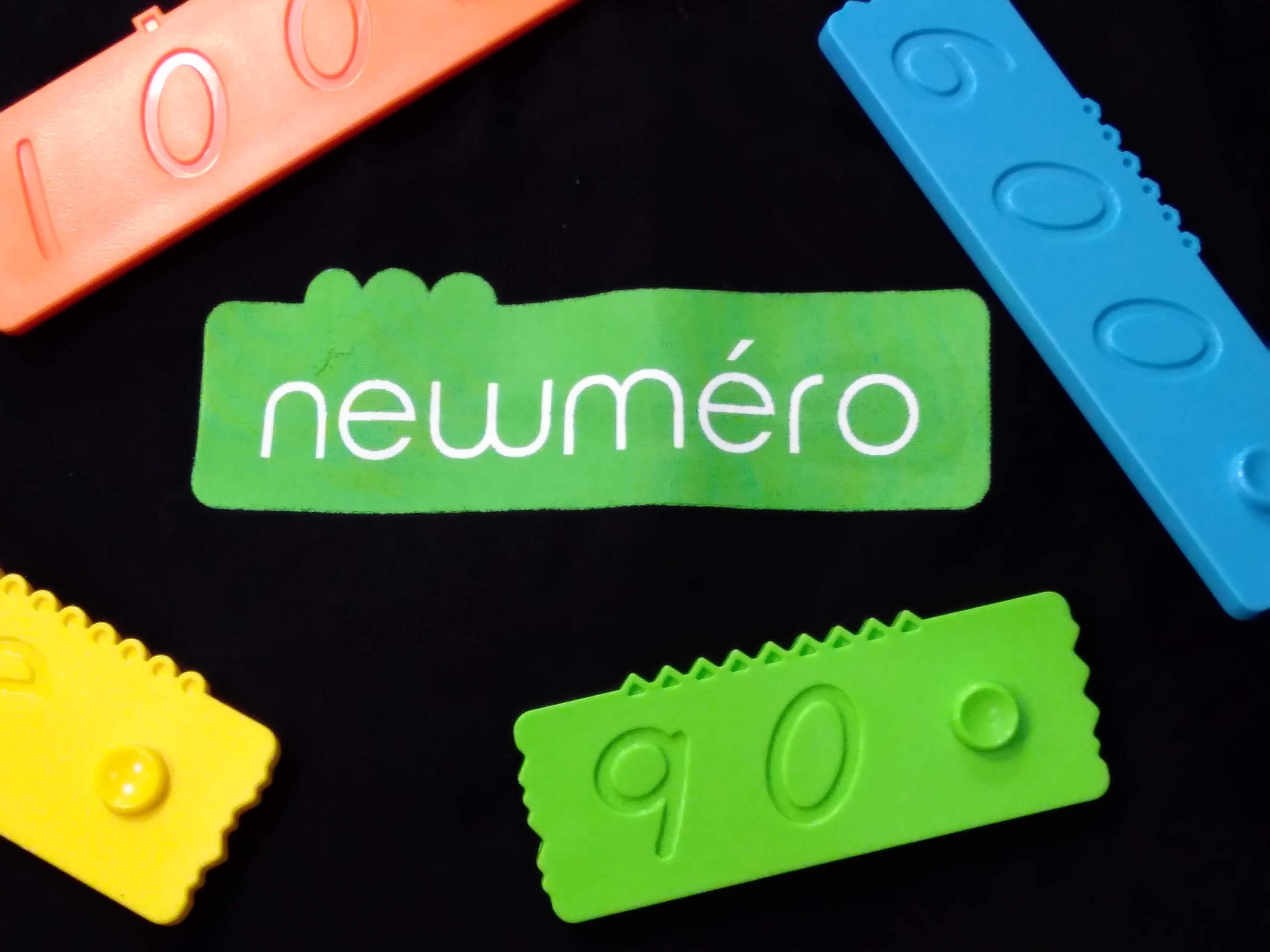 newmeroの袋とブロック