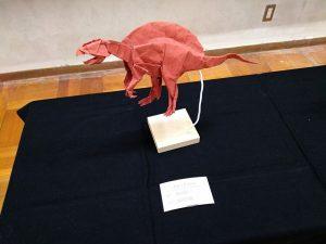 スピノサウルス おりがみ
