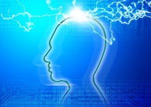 脳に電気信号